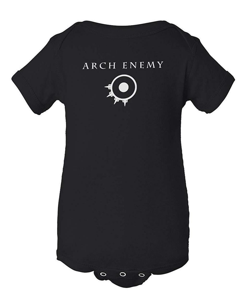 Arch Enemy Thrash Metal Jumper Infant Bodysuit Baby Clothes