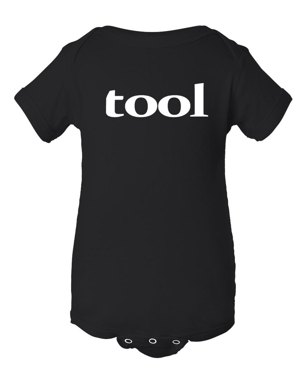 Original Design Black Tool Baby Tribute Concert Bodysuit
