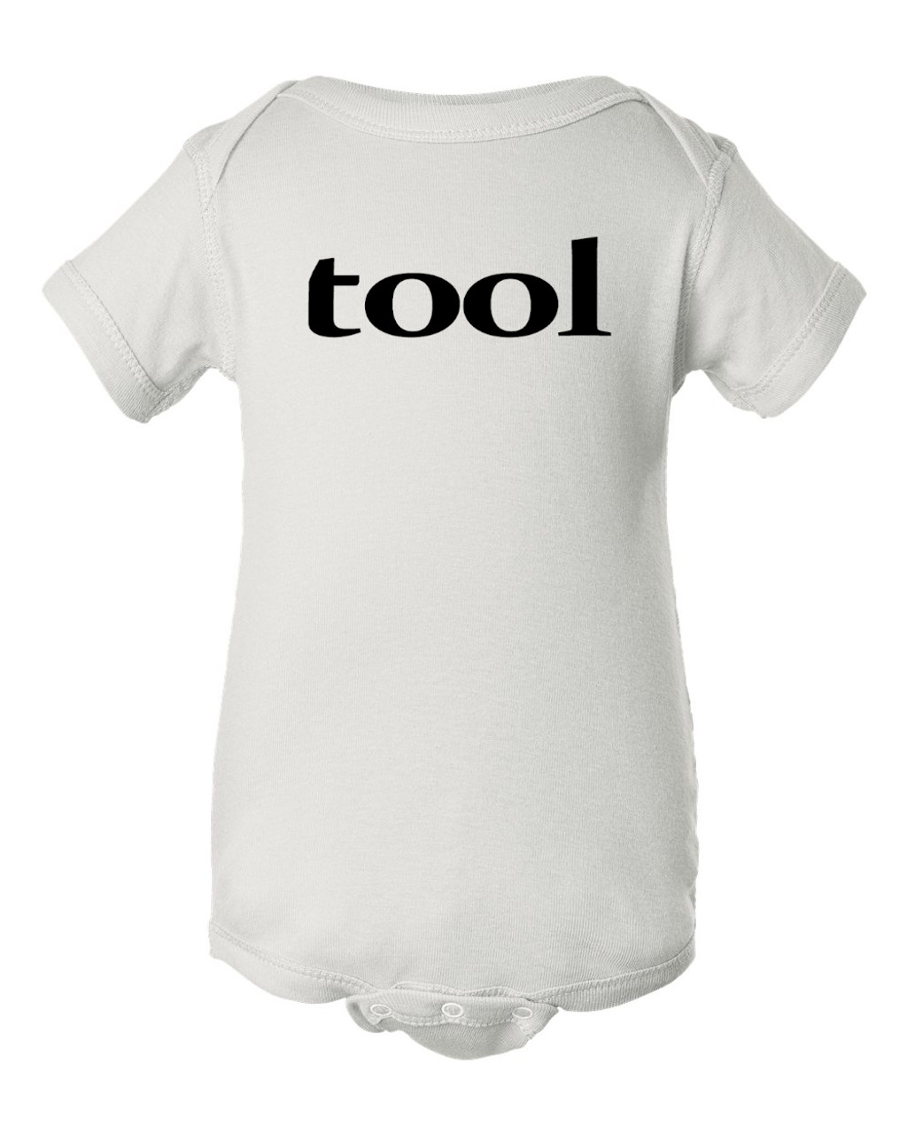Original Design White Tool Baby Infant Tribute Concert Bodysuit