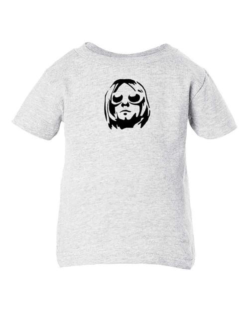 Kurt Nirvana Cobain Baby Toddler T-Shirt Punk Rock & Roll Grunge Tee