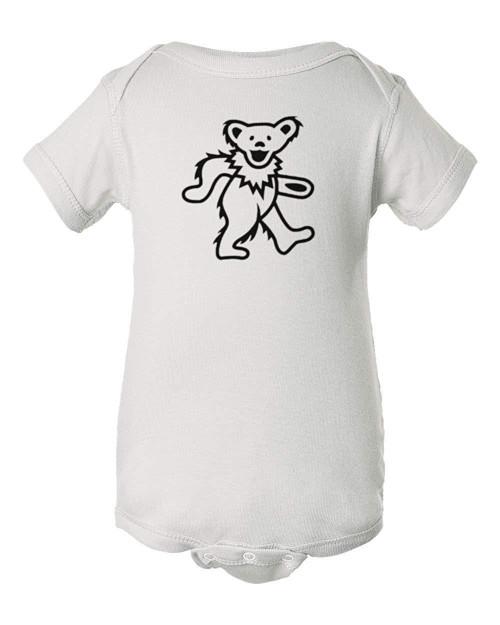 Dancing Bear Baby Grateful Hippie Dead Infant Bodysuit Romper