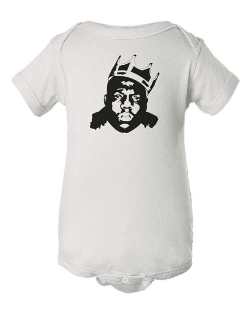 Biggie Smalls Notorious Baby Big Rap Stylized Infant Bodysuit Romper