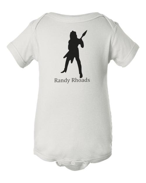 Randy Rhoads Ozzy Rocker Osbourne Guitar Baby Bodysuit Infant Jumper