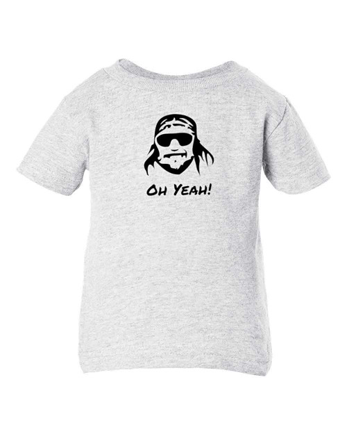 Randy Macho Man Savage Funny Baby Toddler T-Shirt Wrestling Parody