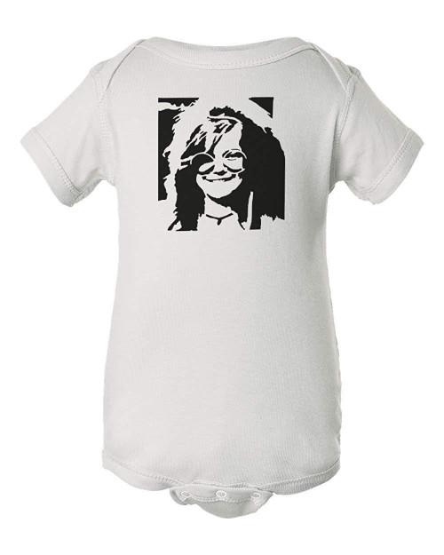Janis 60's Icon Joplin Rock & Roll Baby Infant Jumper Bodysuit