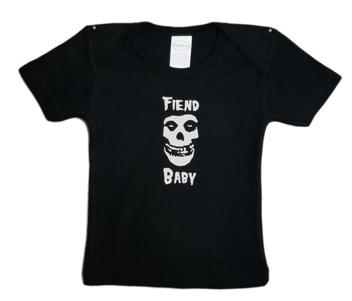 Misfits Fiend Club Infant Baby Toddler Punk Rock T-shirt Danzig Years