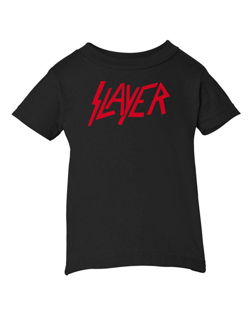 Slayer Thrash Speed Metal Music Baby Infant & Toddler Black T-Shirt Concert