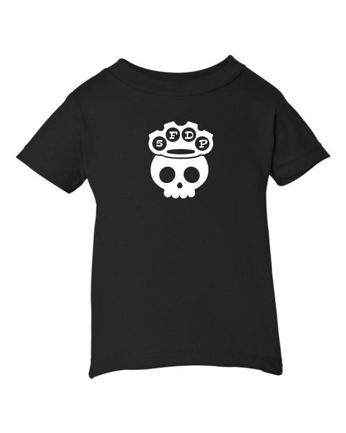 5 Finger Baby Toddler Death Punch Parody Heavy Metal Black T-Shirt
