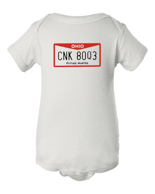 Supernatural CNK 80Q3 Future Hunter Dean & Sam Baby Infant White Bodysuit