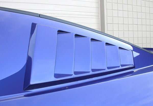 CDC C-Pillar Scoops - Louvered (2005-14)
