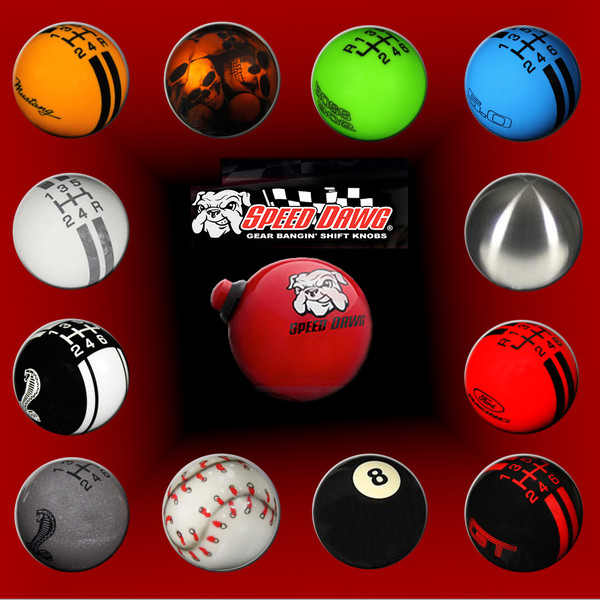 Speed Dawg Shift Knobs (79-14)