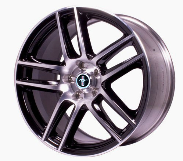 Ford Racing 19x9 Boss 302 S Wheel (Black with machined finish)