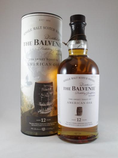 The Balvenie,  The Sweet Toast of American Oak, 12 Year Old, Speyside Single Malt Scotch Whisky