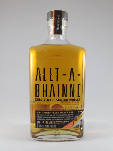 Allt-A-Bhainne, Single Malt Scotch Whisky,