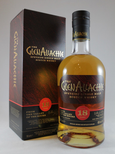 The Glenallachie, Aged 18 Years, Speyside Single Malt Scotch Whisky