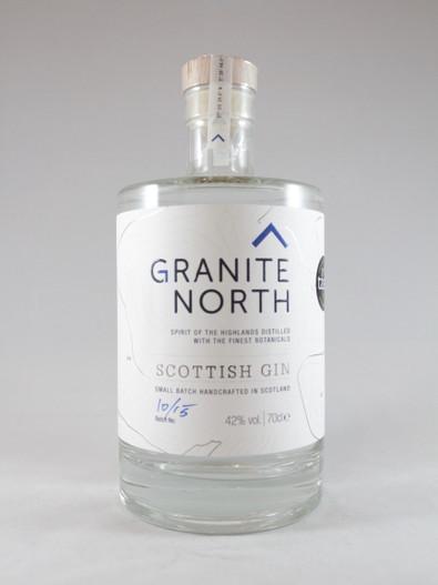 Granite North Gin, Scottish Gin,