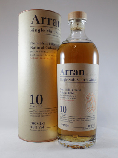 Arran, 10 Year Old, Single Malt Scotch Whisky,