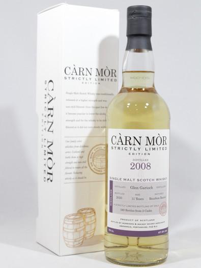 Glen Garioch 2008, 11 Year Old, Bourbon Barrel, Càrn Mòr Strictly Limited