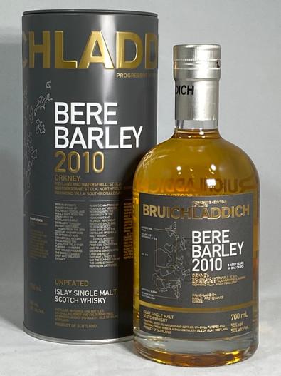 Bruichladdich Bere Barley 2010, Islay Single Malt Scotch Whisky