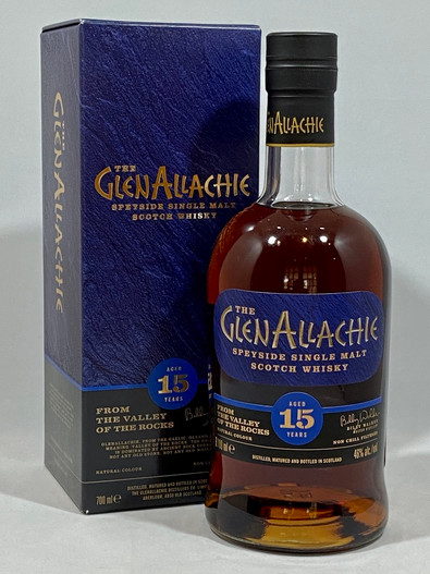 The Glenallachie, Aged 15 Years, Speyside Single Malt Scotch Whisky