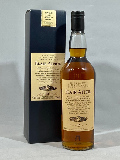 Blair Athol 12 Years Old, Highland Single Malt Scotch Whisky