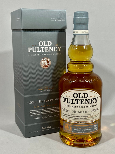 Old Pulteney Huddart, Highland Single Malt Scotch Whisky,  70cl at 46% alc./vol.  www.maltsandspirits.com/old-pulteney-huddart