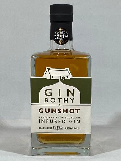 Gin Bothy Gunshot Infused Gin, Small Batch Scottish Gin