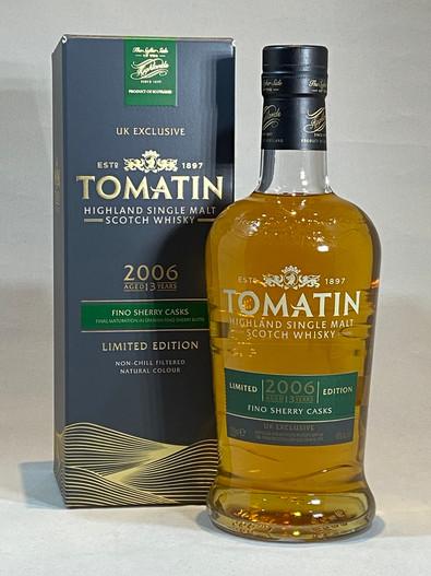 Tomatin Fino Sherry Cask 2006, Highland Single Malt Scotch Whisky
