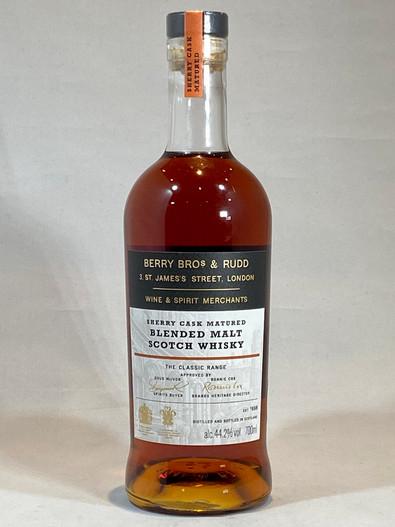 BBR Sherry Cask Matured, Blended Malt Scotch Whisky