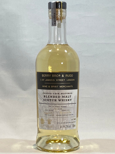 BBR Peated Cask Matured Blended Malt Scotch Whisky