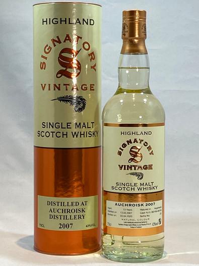 Signatory Vintage Auchroisk 2007 Highland Single Malt Scotch Whisky