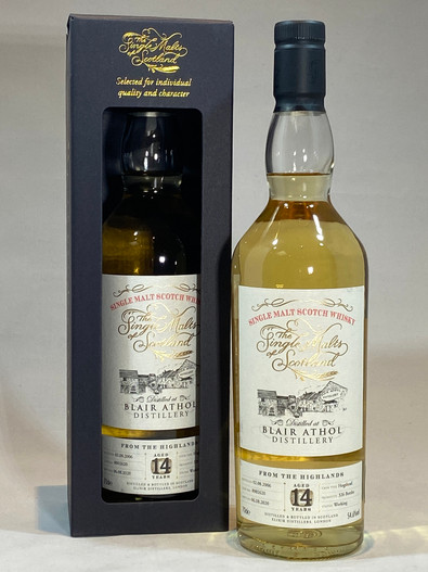 Blair Athol 2006, Highland Single Malt Scotch Whisky