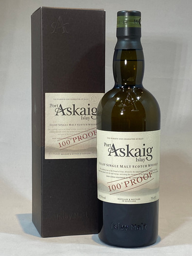 Port Askaig 100º Proof, Islay Single Malt Scotch Whisky