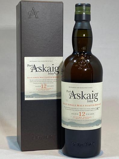 Port Askaig 12 Year Old Autumn Edition, Islay Single Malt Scotch Whisky