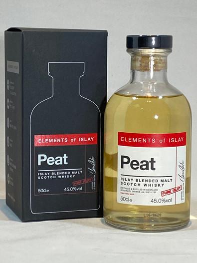 "Elements of Islay ""Peat"" Pure Islay, Islay Blended Malt Scotch Whisky"