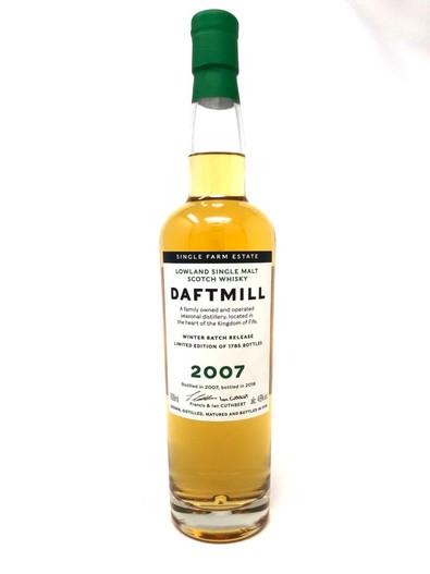 Daftmill Winter 2007 Release (UK), Lowland Single Malt Scotch Whisky