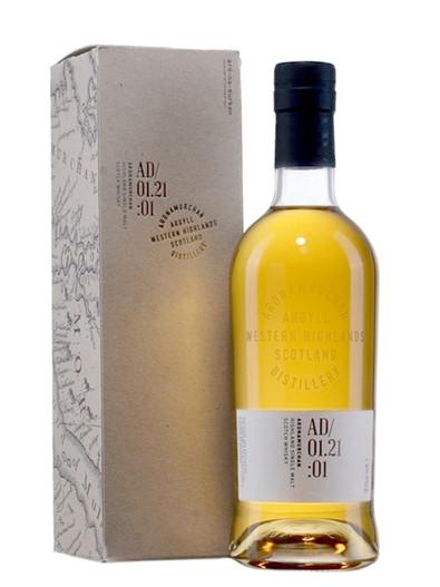 Ardnamurchan Single Malt AD01.21:01, Single Malt Scotch Whisky