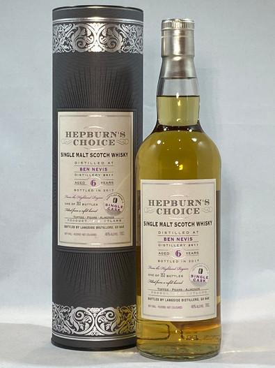 Hepburn's Choice Ben Nevis Single Cask , Highland Single Malt Scotch Whisky