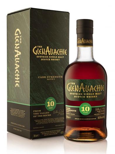 The Glenallachie Aged 10 Years Batch 5 Cask Strength, Speyside Single Malt Scotch Whisky