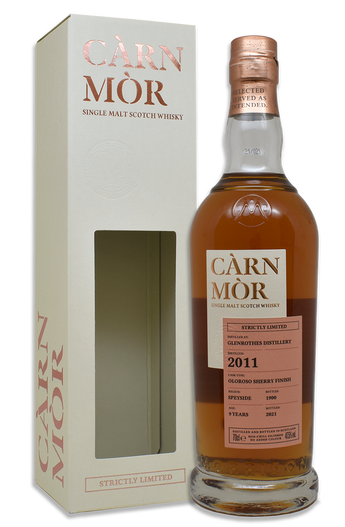 Glenrothes 9 Year Old (2011), Oloroso Sherry Finish, Càrn Mòr Strictly Limited Scotch Whisky.