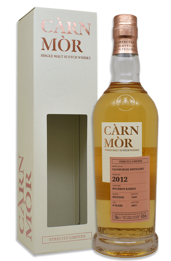 Glenburgie 8 Year Old (2012) Bourbon Barrel, Càrn Mòr Strictly Limited Scotch Whisky.