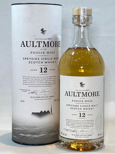 Aultmore 12 Year Old, Speyside Single Malt Scotch Whisky