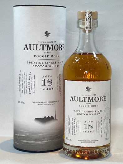 Aultmore 18 Year Old, Speyside Single Malt Scotch Whisky