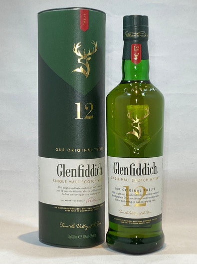 Glenfiddich 12 Year Old,  Single Malt Scotch Whisky