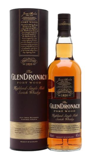 GlenDronach Port Wood, Highland Single Malt Scotch Whisky