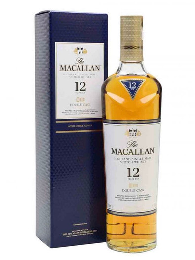 The Macallan 12 Years Old Double Cask Matured, Highland Single Malt Scotch Whisky