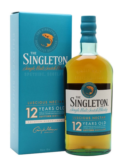 The Singleton Of Dufftown 12 Year Old, Speyside Single Malt Scotch Whisky