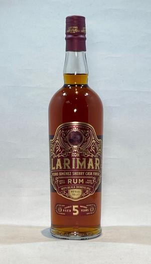 Ron Larimar  Pedro Ximenez Finish 5 Year Old Rum , Produce of The Dominican Republic