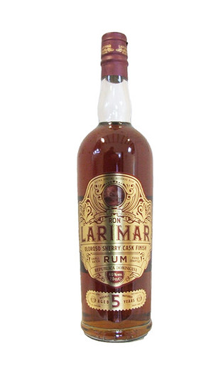 Ron Larimar Oloroso Sherry Cask Finish 5 Year Old Rum , Produce of The Dominican Republic