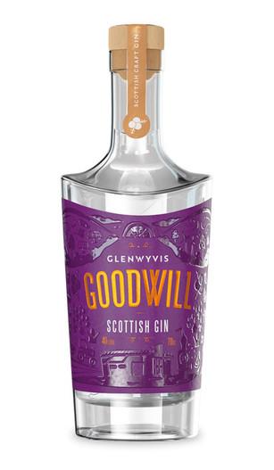 Glenwyvis Goodwill Gin, Scottish Gin